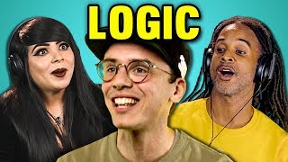 Video ADULTS REACT TO LOGIC (Black SpiderMan, Flexicution, Young Sinatra III) MP3, 3GP, MP4, WEBM, AVI, FLV Maret 2018