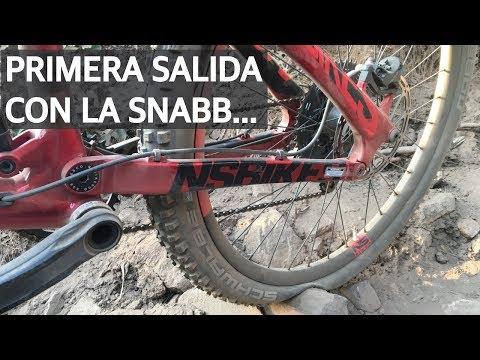 Primera pedaleada con Snabb en mis pinchazos!