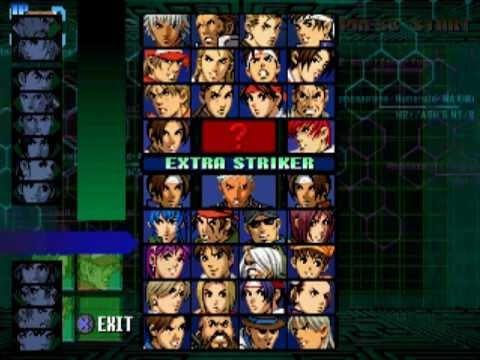 the king of fighters 99 playstation pocket