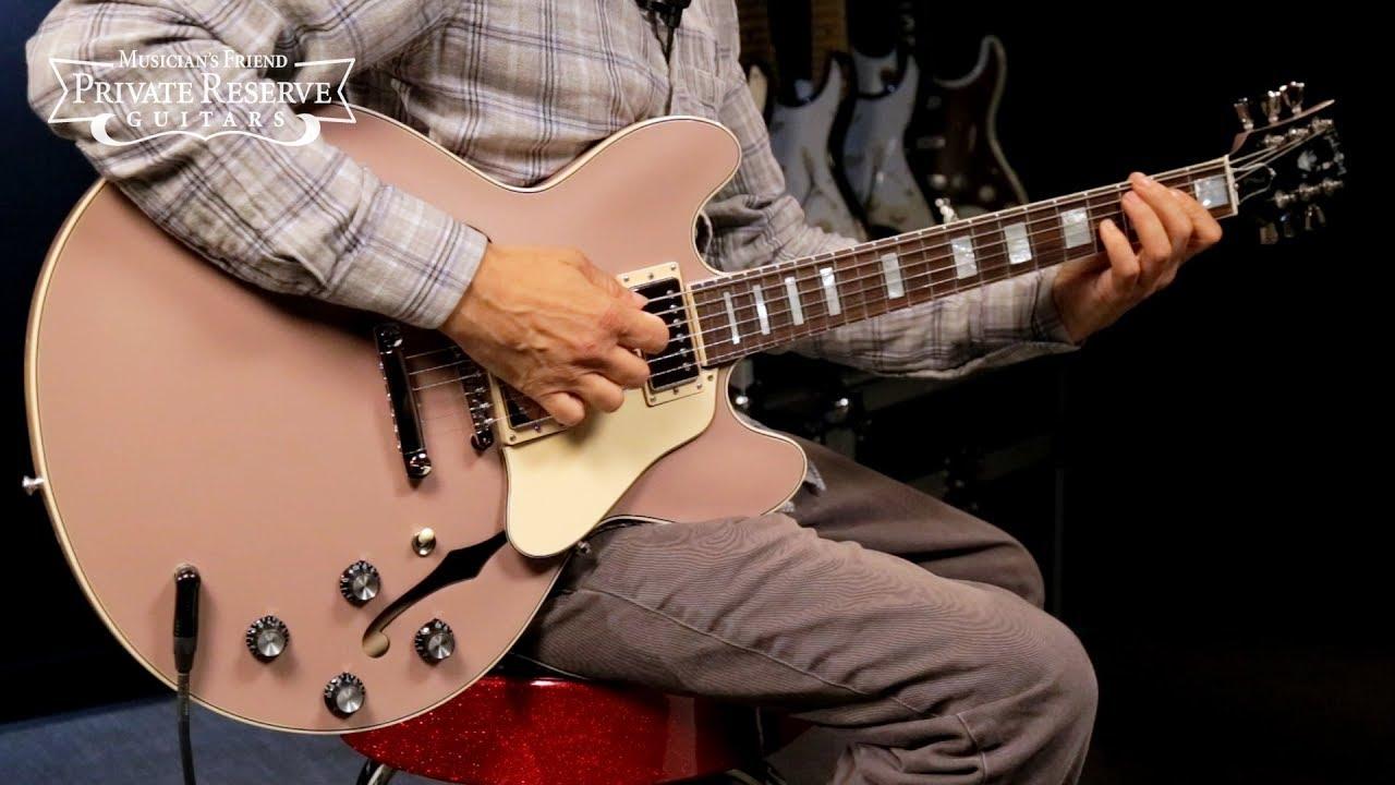 Gibson Limited Run Big Block Retro ES-335 Semi-Hollow Electric Guitar