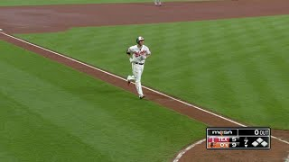 Chris Davis belts an opposite-field solo home run that just clears the left-field wall, extending the Orioles' lead to 9-5 in the 7thCheck out http://MLB.com/video for more!About MLB.com: Former Commissioner Allan H. (Bud) Selig announced on January 19, 2000, that the 30 Major League Club owners voted unanimously to centralize all of Baseball's Internet operations into an independent technology company. Major League Baseball Advanced Media (MLBAM) was formed and charged with developing, building and managing the most comprehensive baseball experience available on the Internet. In August 2002, MLB.com streamed the first-ever live full length MLB game over the Internet when the Texas Rangers and New York Yankees faced off at Yankee Stadium. Since that time, millions of baseball fans around the world have subscribed to MLB.TV, the live video streaming product that airs every game in HD to nearly 400 different devices. MLB.com also provides an array of mobile apps for fans to choose from, including At Bat, the highest-grossing iOS sports app of all-time. MLB.com also provides fans with a stable of Club beat reporters and award-winning national columnists, the largest contingent of baseball reporters under one roof, that deliver over 100 original articles every day. MLB.com also offers extensive historical information and footage, online ticket sales, official baseball merchandise, authenticated memorabilia and collectibles and fantasy games.Major League Baseball consists of 30 teams split between the American and National Leagues. The American League consists of the following teams: Baltimore Orioles; Boston Red Sox; Chicago White Sox; Cleveland Indians; Detroit Tigers; Houston Astros; Kansas City Royals; Los Angeles Angels ; Minnesota Twins; New York Yankees; Oakland Athletics; Seattle Mariners; Tampa Bay Rays; Texas Rangers; and Toronto Blue Jays. The National League, originally founded in 1876, consists of the following teams: Arizona Diamondbacks; Atlanta Braves; Chicago Cubs; Cincinnati Reds; Colorado Rockies; Los Angeles Dodgers; Miami Marlins; Milwaukee Brewers; New York Mets; Philadelphia Phillies; Pittsburgh Pirates; San Diego Padres; San Francisco Giants; St. Louis Cardinals; and Washington Nationals.Visit MLB.com: http://mlb.mlb.comSubscribe to MLB.TV: http://mlb.tvDownload MLB.com At Bat: http://mlb.mlb.com/mobile/atbatDownload MLB.com Ballpark: http://mlb.mlb.com/mobile/attheballparkDownload MLB.com Clubhouse: http://mlb.com/clubhousePlay Beat The Streak: http://mlb.mlb.com/btsGet MLB Tickets: http://mlb.mlb.com/ticketsGet Official MLB Merchandise: http://mlb.mlb.com/shopConnect with us:YouTube: http://youtube.com/MLB Facebook: http://facebook.com/mlbInstagram: http://instagram.com/mlbTwitter: http://twitter.com/mlbPinterest: http://pinterest.com/mlbofficialTumblr: http://mlb.tumblr.comGoogle+: http://plus.google.com/+MLB
