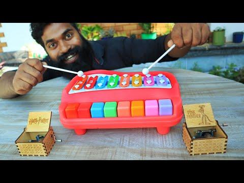 Xylophone Music Box Testing By M4 Tech | സംഗീതപ്പെട്ടി കൊട്ടിനോക്കിയപ്പോൾ | M4 TECH |