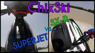 6. ChixSki: Review Yamaha Superjet vs. Kawasaki SX-R 1500