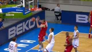 Dunk of the Game S. Massot GER-BEL EuroBasket 2013