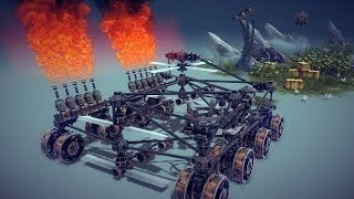 Hi!Some of you have requested construction videos so lets give it a try,it's a quite simple machine for this first attempt.bsg: http://www.besiegedownloads.com/download.php?id=571a0ef99bd6frocketcutter.bsgSteer:                   Arrow keys.Rocket cutters:  1-4 (1 to raise the arms)Lawn mover:       Z,XFlamethrowers:  Bend:C,V Ignite: BCatapult:              N