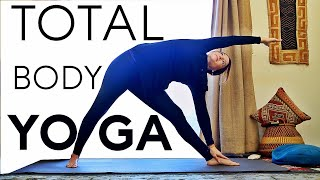 Video 20 Minute Total Body Yoga For Strength And Flexibility With Fightmaster Yoga MP3, 3GP, MP4, WEBM, AVI, FLV Maret 2018
