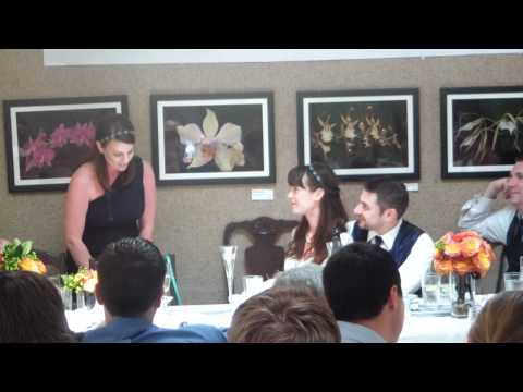 Best Maid of Honor Wedding Speech EVER