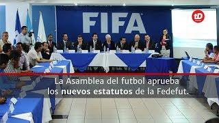 La Presidenta del Comité de Regularización de la Fedefut Adela de Torrebiarte se refirió a la aprobación de los nuevos estatutos de la Fedefut. Se ha superado una nueva etapa para que la Fifa habilite al futbol guatemalteco, ahora la CDAG debe aprobarlos.