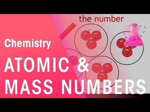 Atomic Number and Mass Number   Chemistry   Fuse School