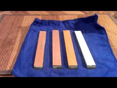 Мой метод заточки ножей (My method of sharpening knives)