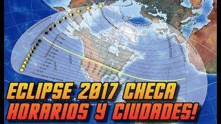 Dónde ver el eclipse solar en Latinoamérica?. ¿Qué chances tienen aquellos países al sur de los EEUU de poder llegar a ver el...