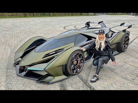 The World's Most Insane Car! Lamborghini Vision GT