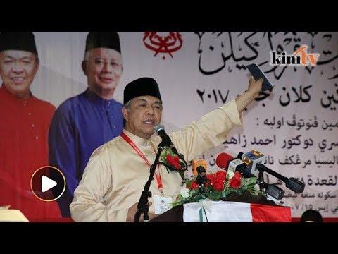 Zahid: Nama dia Mahathir anak lelaki Iskandar Kutty