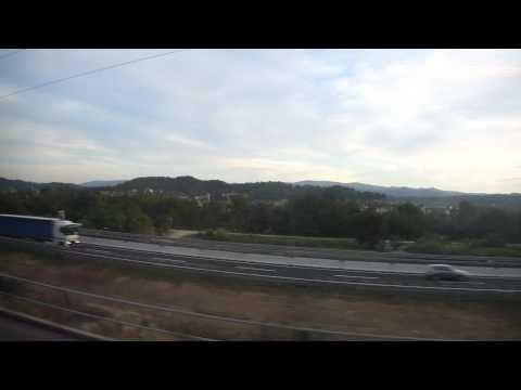 Bullet train from Florence to Rome