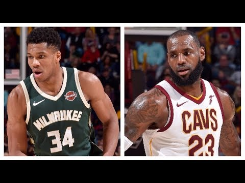 Giannis (40 Points) and LeBron (30 Points) Go Head-to-Head in Cleveland | November 7, 2017