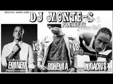 Video *NEW 2012* Eminem Vs Bohemia Vs Ludacris Mashup - King of Rap Castle - DJ Monte-S download in MP3, 3GP, MP4, WEBM, AVI, FLV January 2017