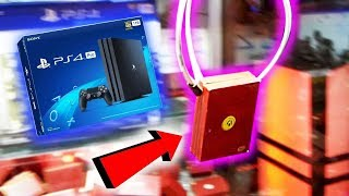 Video There's a PS4 in this Claw Machine... MP3, 3GP, MP4, WEBM, AVI, FLV Januari 2019