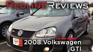 2008 Volkswagen GTI Review, Walkaround, Exhaust, Test Drive