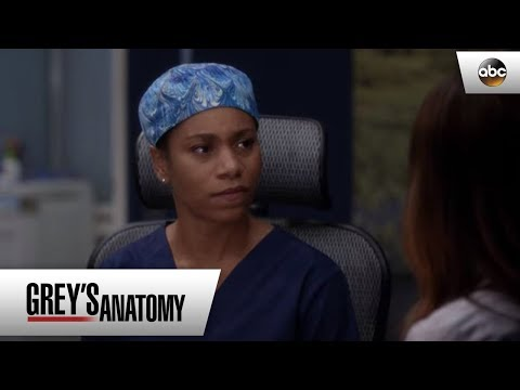 Amelia Tells Maggie About The Tumor - Grey's Anatomy