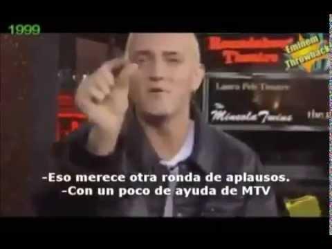 1999 Eminem on MTV TRL
