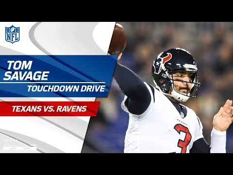Video: Tom Savage Leads Houston on Opening TD Drive! | Texans vs. Ravens | NFL Wk 12 Highlights