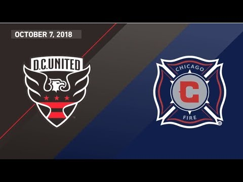 Video: HIGHLIGHTS: Chicago Fire at D.C. United | October 7, 2018
