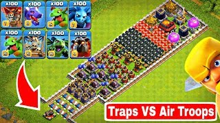 Video Who Can Survive This Difficult Trap on COC? Trap VS Air Troops #2 MP3, 3GP, MP4, WEBM, AVI, FLV Juni 2019