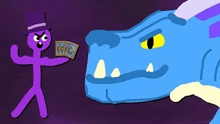Zombey legt sich mit einem Drachen an. | Hearthstone