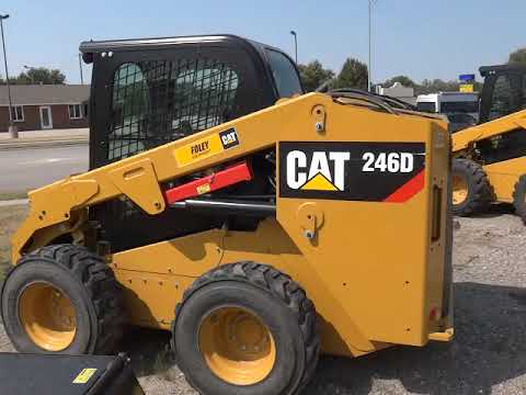 CATERPILLAR MINICARREGADEIRAS 246DSTD1CA equipment video _SSKCcCTt7g