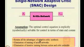 Mod-10 Lec-21 Approximate Dynamic Progr (ADP),Adaptive Critic (AC)