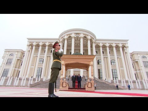 Встреча Лукашенко и Рахмона прошла в Душанбе - DomaVideo.Ru