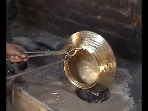 Traditional Brass And Copper Craft Of Utensil Making Among The