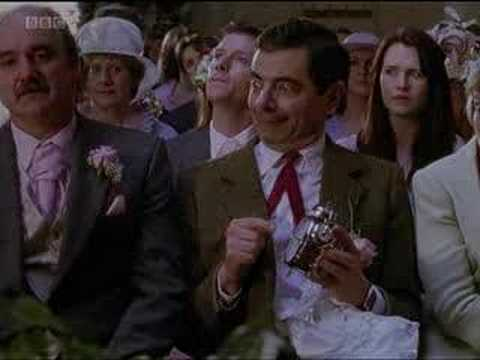 comic - http://www.rednoseday.com PLEASE DONATE! Mr Bean attends a wedding in the way only he knows how.