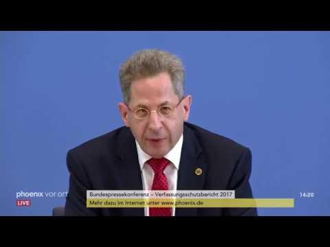 Bundespressekonferenz zum Verfassungsschutzbericht 20 ...