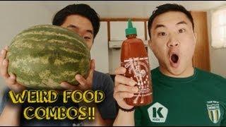 WEIRD HOMEMADE FOOD COMBOS