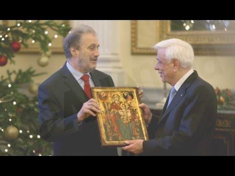 Τα Κάλαντα των Χριστουγέννων στον Πρόεδρο της Δημοκρατίας