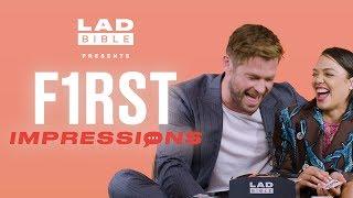 Video Chris Hemsworth's impression of Chris Pratt is hilarious! | First Impressions MP3, 3GP, MP4, WEBM, AVI, FLV Juli 2019