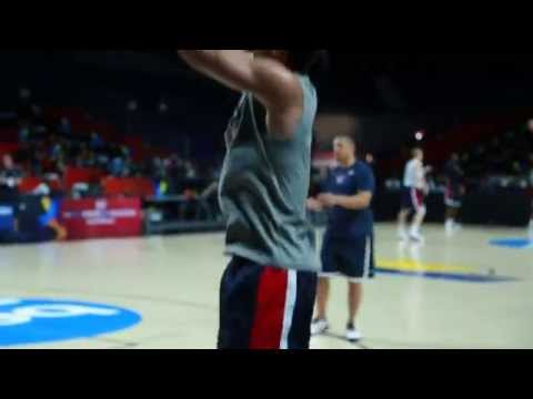 Video: Steph Curry Shooting For Gold In Madrid