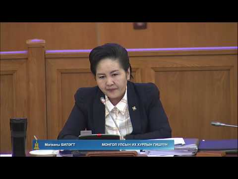 Б.Бат-Эрдэнэ: Хууль батлахад хариуцаж байгаа байнгын хороо, ажлын хэсгүүд байх шаардлагатай