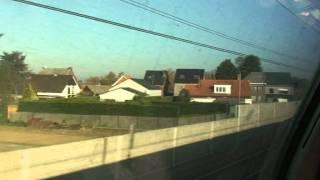 Diegem Belgium  city photos : Train ride between Diegem and Leuven in Belgium Nov 15 2011