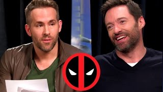 Deadpool Interviews Wolverine For EDDIE THE EAGLE 2016 Ryan Reynolds Hugh Jackman