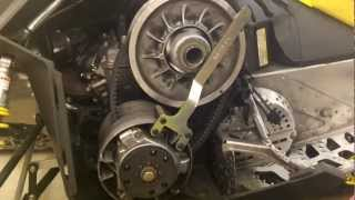 7. Ski-Doo QRS Style Clutches 2009-10 - EPI Clutch Kit Install