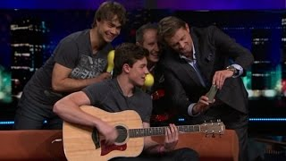 "Video Alexander Rybak and Shawn Mendes ""Stitches""  in the Norwegian talk show ""Senkveld"" 18.09.2015 MP3, 3GP, MP4, WEBM, AVI, FLV September 2018"