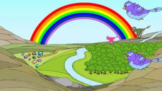 The Rainbow - English Nursery Rhymes -  English Cartoon Nursery Rhymes