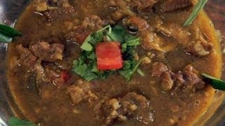 Learn cooking, Pachamulaku Mutton Curry, Tamil food