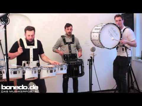 Thomann Marching Bass Drum 20x14 & 26x14 Sound Demo