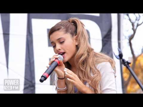 Ariana Grande - Right There - Live Acoustic Performance