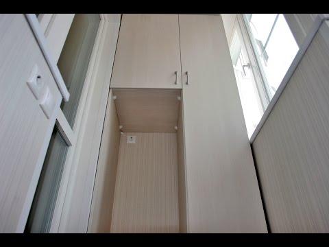 Full video: арсеналстрой - встроенная мебель для лоджии п-3м.