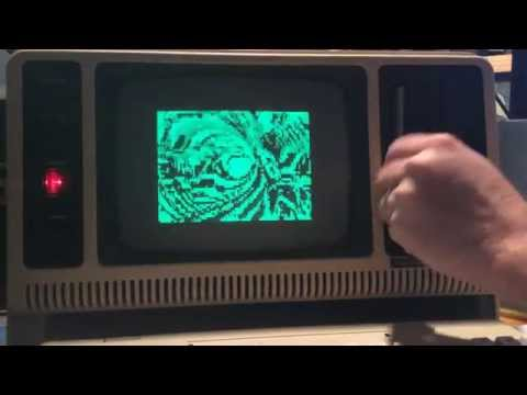 Classic Doctor Who Streamed On 31-Year-Old TRS-80 Home Computer?!