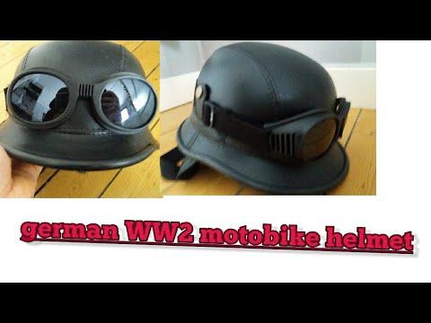 German motobike helmet (WW2)